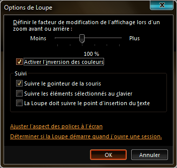 options Loupe